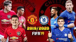 FIFA 19   แมนยู VS เชลซี   แผน 4-2-3-1 ทีมชุดล่าสุด !! พรีเมียร์ลีก  2019/2020 - YouTube