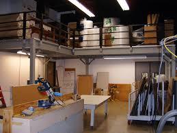 mezzanine office. L Shaped Mezzanine. Managers Mezzanine Office In Warehouse