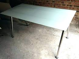 ikea glass table top desk glass top splendid full image for glass top desk nice decorating