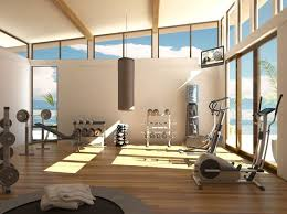 home gym lighting. does lighting in your home gym improve workouts