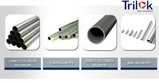 Stainless Steel Hollow Pipe Suppliers Ss 304 Seamless