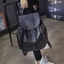 women backpack fashion large women bag designer casual pu leather backpack feminine mochila travel backpacks school student bags fashion personal