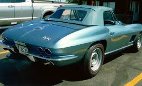 1967 Chevy Corvette Stingray Convertible - Mike Hamad Upholstery