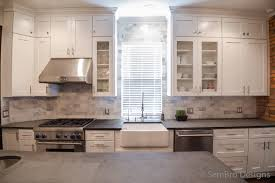 white shaker kitchen cabinets with granite countertops. Rosewood Nutmeg Amesbury Door White Shaker Kitchen Cabinets Backsplash Subway Tile Stone Soapstone Countertops Sink Faucet Island Lighting Flooring With Granite