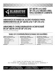 gladiator gawg302drg premier series 30 wall gearbox user manual 16 pages also for gawg241drg premier series 24 wall gearbox gawg302dzw 30 wall gearbox
