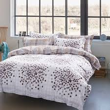 Country Style Branches Of Flowers Printed 100 Egyptian Cotton Country Style King Size Comforter Sets