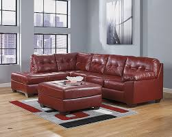 New Ashley Furniture Leather Sectional Sofa Sofas nekkonezumicom