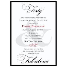 40th Party Invitation Wording 40th Birthday Invitations Wording