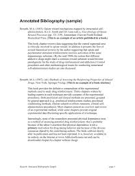 Annotated Bibliography Sample Monzaberglauf Verbandcom