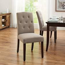 leather parsons dining chairs better homes and gardens parsons tufted dining chair for kitchen decor