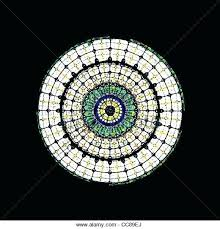 ed imge round stained glass window clings diy hngings