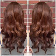Medium Golden Mahogany Brown Hair Color Medium Golden
