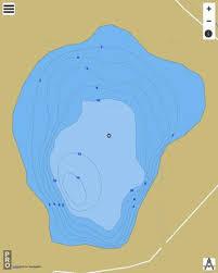 Little Lake Placid Fishing Map Us_mi_62_177 Nautical