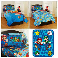 super mario bedding full size bedroom furniture diy room in bag nerd pic bros brothers stickers