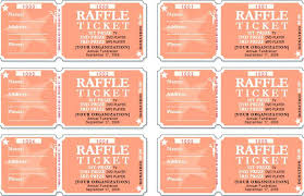 How To Create Raffle Tickets In Word Raffle Template Raffle Sheet ...