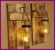 homemade lighting ideas. Uncategorized Hanging Lamps Homemade Shocking Outdoor Wall Lighting Ideas With Diy Mason Jar Candle For S