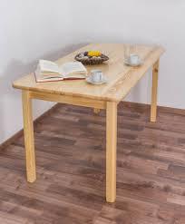 Tisch Kiefer Massiv Vollholz Natur 001 Abmessung 75 X 150 X 75 Cm
