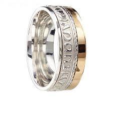 View Full Gallery Of Brilliant Mens Irish Wedding Rings