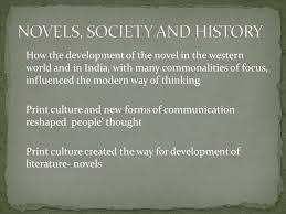 Novels Society And History John Pptx Powerpoint