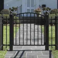Garden Gate Design Ideas Decoration Ideas Aluminum Fence Gate Designs Along With
