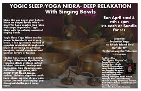 yoga nidra works with singing bowls