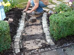 dig a border trench
