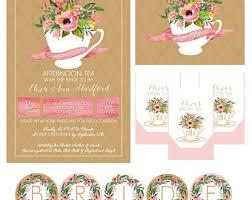 pink tea bag clip art. Fine Clip Watercolor Tea Party Bridal Shower Invitation Package Tea Bag  Covers Banner With Pink Clip Art 5
