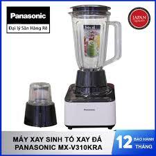 Máy Xay Sinh Tố Xay Đá Panasonic MX-V310KRA cối thủy tinh sản xuất Malaysia  2L 600W - Chính hãng bảo hành 12 tháng