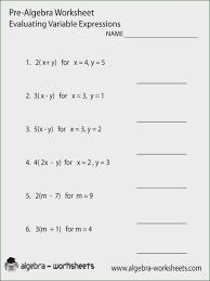 Pre Algebra Practice Worksheets – Worksheet Template