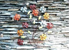 colorful metal wall art rful metal wall art flowers tree abstract colorful outdoor metal wall art
