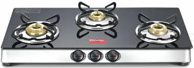 details about prestige marvel 3 burner cooktop glass top range black gas stove manual ignition
