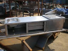 Camper Trailer Kitchen China Stainless Camping Trailer Kitchen Sk09 China Camper