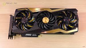 Rtx 2080 Ti Lighting Z Msi Geforce Rtx 2080ti Lightning Z Fiyatı Ve Özellikleri
