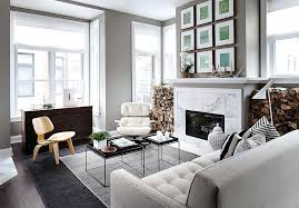 fireplace gallery view in gallery beautiful living room fireplace with marble face and a gallery wall