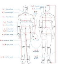 body measurement chart for men mens body measurement chart body measurements chart yahoo