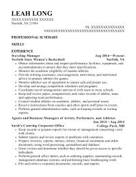 Best Agents And Business Managers Of Artists Resumes Resumehelp