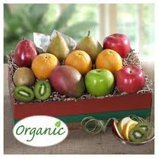 purim organic deluxe fruit gift collection