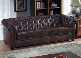fine italian leather furniture. Here Is A Perfect Example Of Classically Styled Brown Leather Sofa With Rolled Arms. Fine Italian Furniture