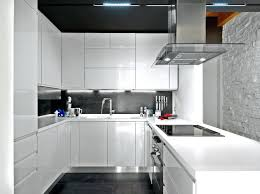 Modern White Kitchen Cabinets Best Contemporary Ideas On Backsplash