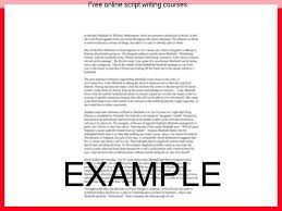 "online script writing courses college paper service  online script writing courses online playwriting courses and about ""scriptology "" our"