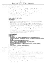 Flight Attendant Resume Sample Flight Attendant Resume utah staffing companies 55