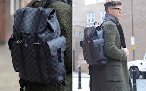 louis vuitton backpack men. darren kennedy telegraph mens leather backpacks louis vuitton christopher backpack men