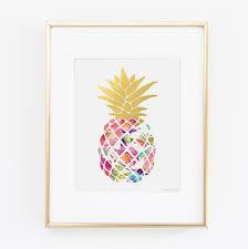 Pineapple Wall Decor