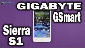 Распаковка Gigabyte GSmart Sierra S1 ...