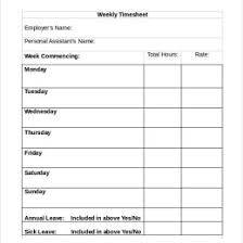 Timesheets Sample Sample Time Sheets To Print Document Template Cadar
