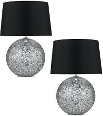 red and black table lamps bedside table lamp shades glamorous black lamps for living room red