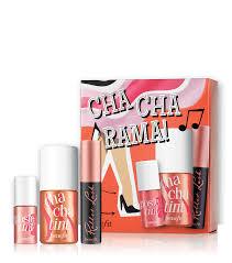 cha cha rama lip cheek and mascara set