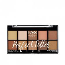 nyx professional makeup perfect filter shadow palette 17 7 g