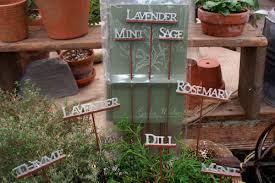 garden herb signs beautiful design mini garden signs
