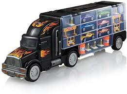 Amazon.com: Play22 Toy Truck Transport Car Carrier - Toy Truck ...